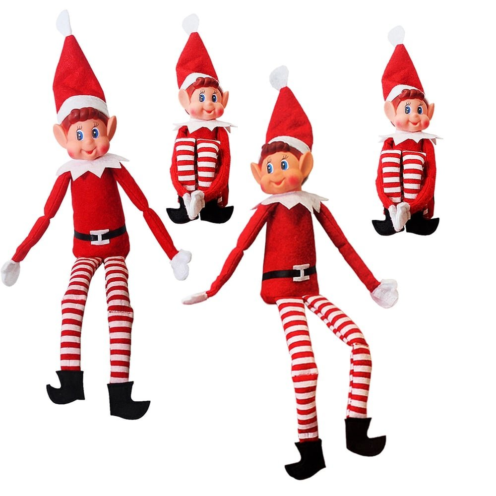Elves Behavin\' Badly 34634 Xmas Festive Smiley Face Elf Soft Toy ...