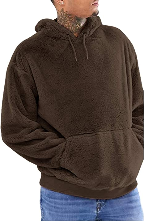 Mens New Sweatshirt Sweater Crew Neck Jumper Pullover Ribbed Plain Fleece Warm