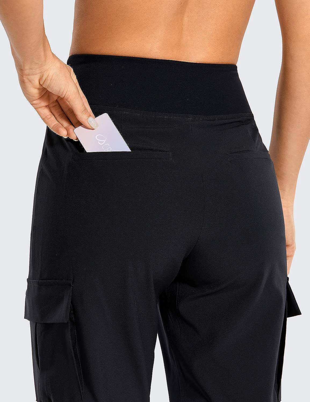 CRZ YOGA Femme Sport Pantalons Vetement de Jogging Pants Fitness Surv/êtement