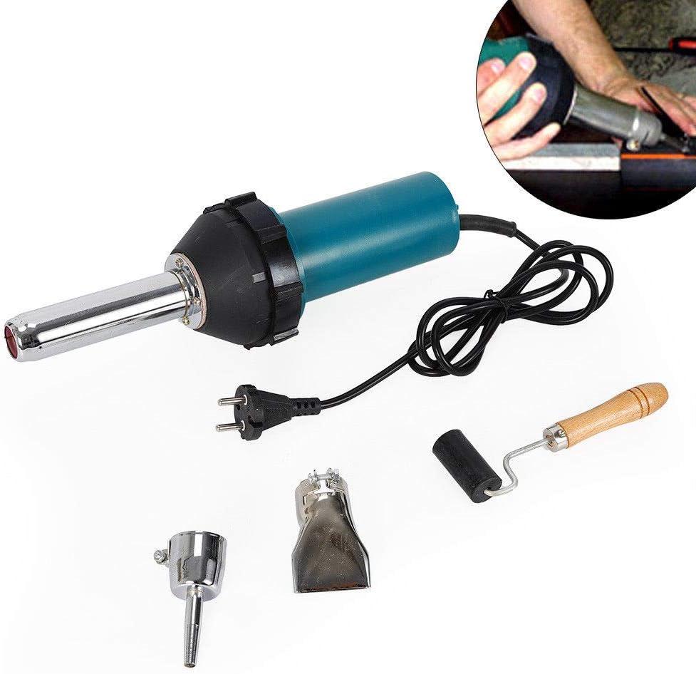 Temp/érature r/églable 40-550 /°C Pistolet /à air chaud 1080W Pistolet /à souder en plastique Kit