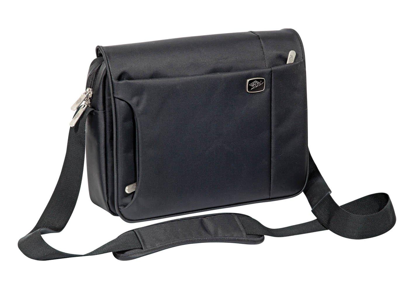 Werner Dorsh (WEDO) 71200 Sacoche horizontale avec multi-compartiments pour Tablette 10, 1'/iPad Noir 1/iPad Noir 595001 pochette