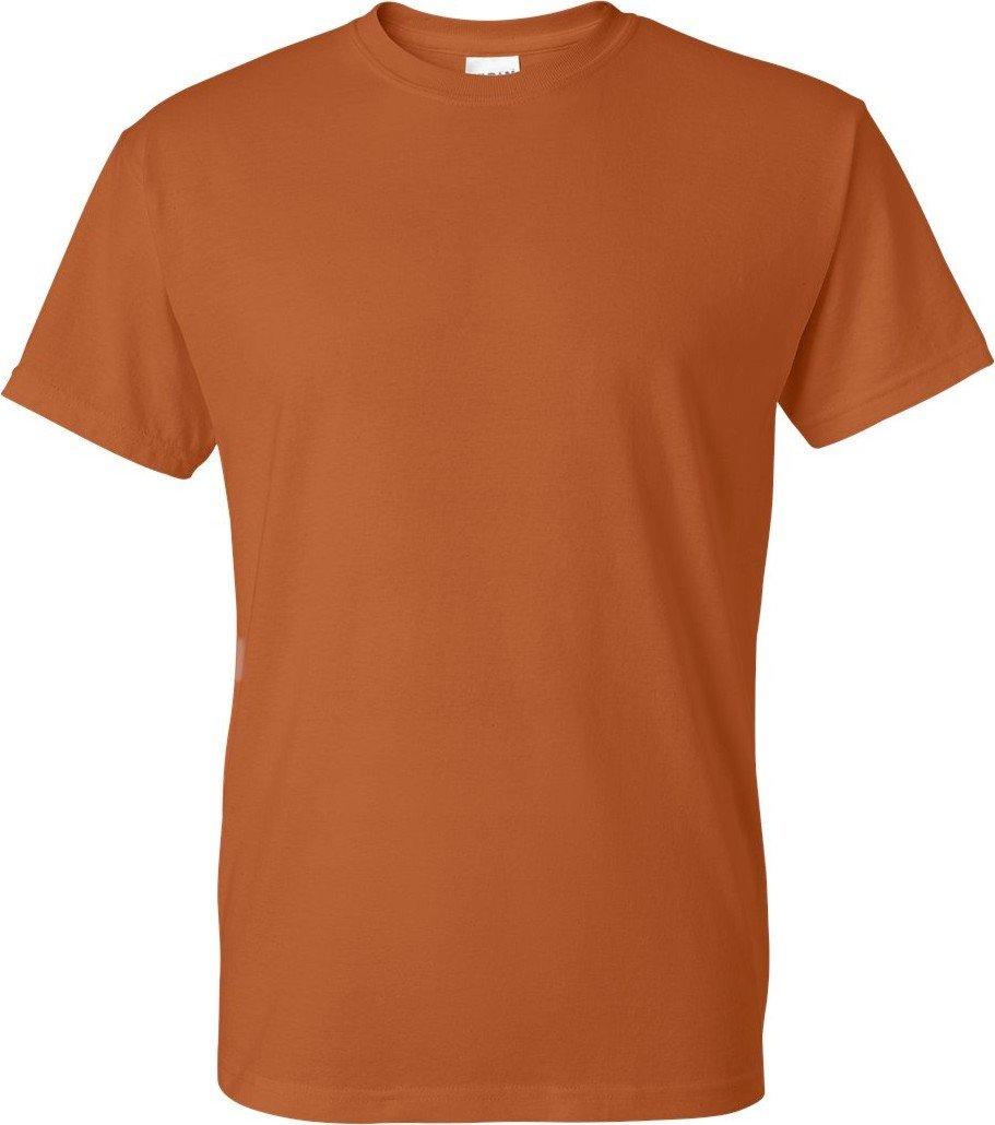 Gildan SHIRT メンズ B0055NSR2A 4L|オレンジ(Texas Orange) オレンジ(Texas Orange) 4L