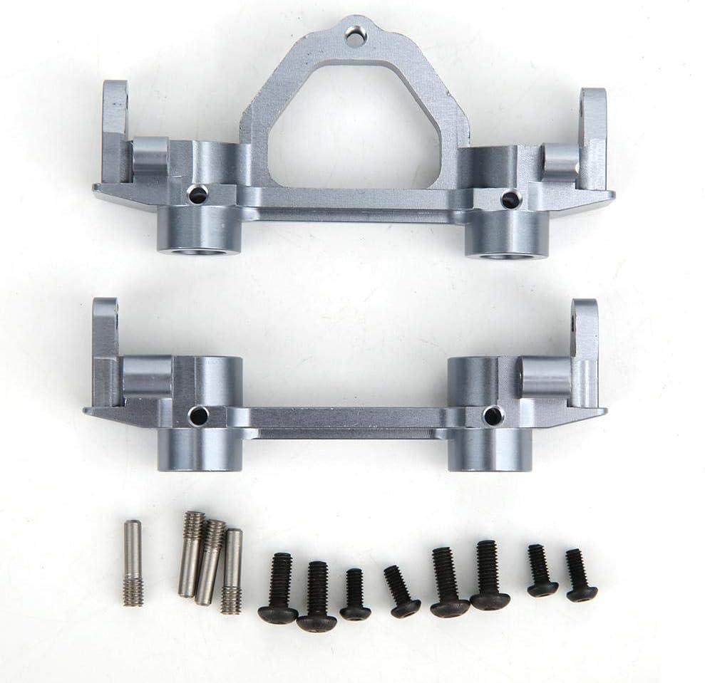 A Set of Front and Rear RC Car Metal Bumper Bracket for SCX0026 90022 90035 Axial Scx10 1//10 RC Car Vbest life RC Crawler Car Grey Metal Bumper