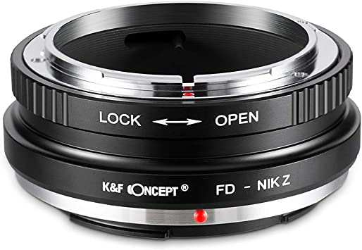 New K/&F Concept Adapter for Canon EOS EF Mount Lens to Nikon Z6 Z7 Camera