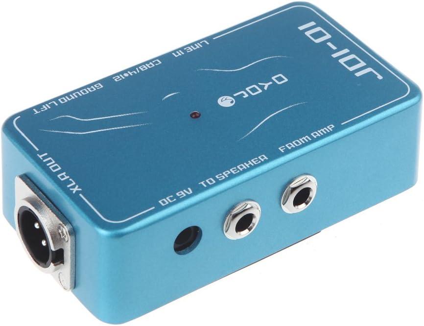 JOYO JDI-01 Caja DI Caja Directa Pasiva Simulador de Amplificador ...
