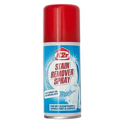 K2r quitamanchas Spray 100 ml de Caraselle – para limpieza en seco, tejidos y tapicería