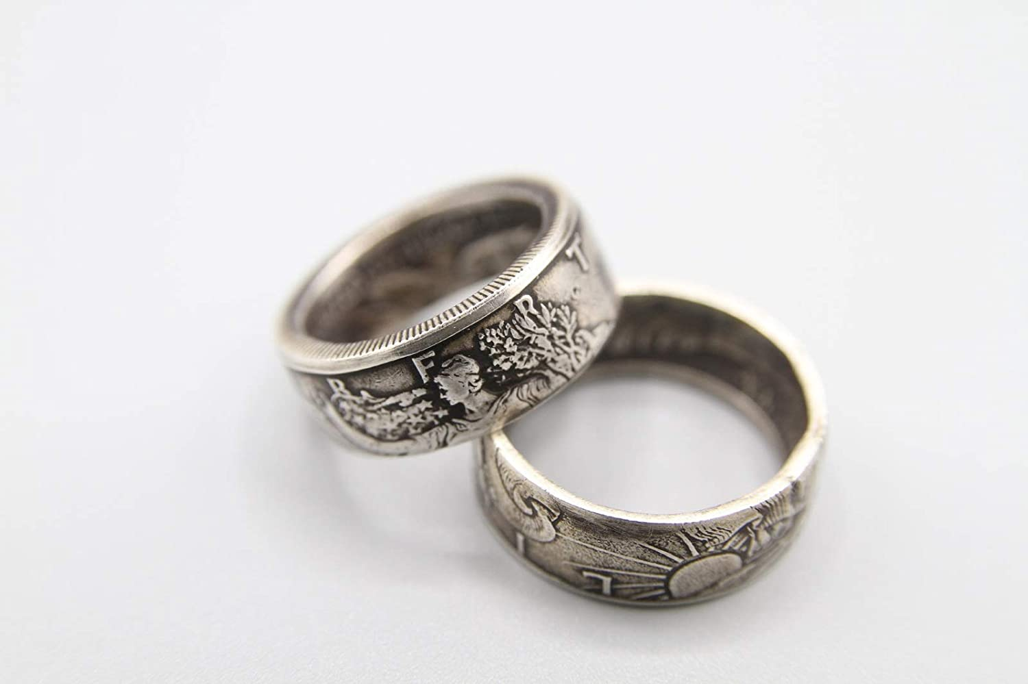 The #1Best,Most Popular Silver-Antique-Liberty Coin Ring.