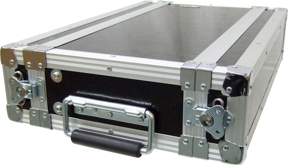 ARMOR アルモア FRP製ラックケース (ハーフ) 2U-D220/BK B0030WJOUW
