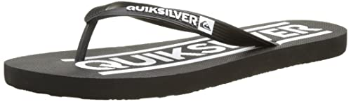 524ad443093b3e Quiksilver Java Wordmark, Tongs Homme, Multicolore Black/White, 39 EU
