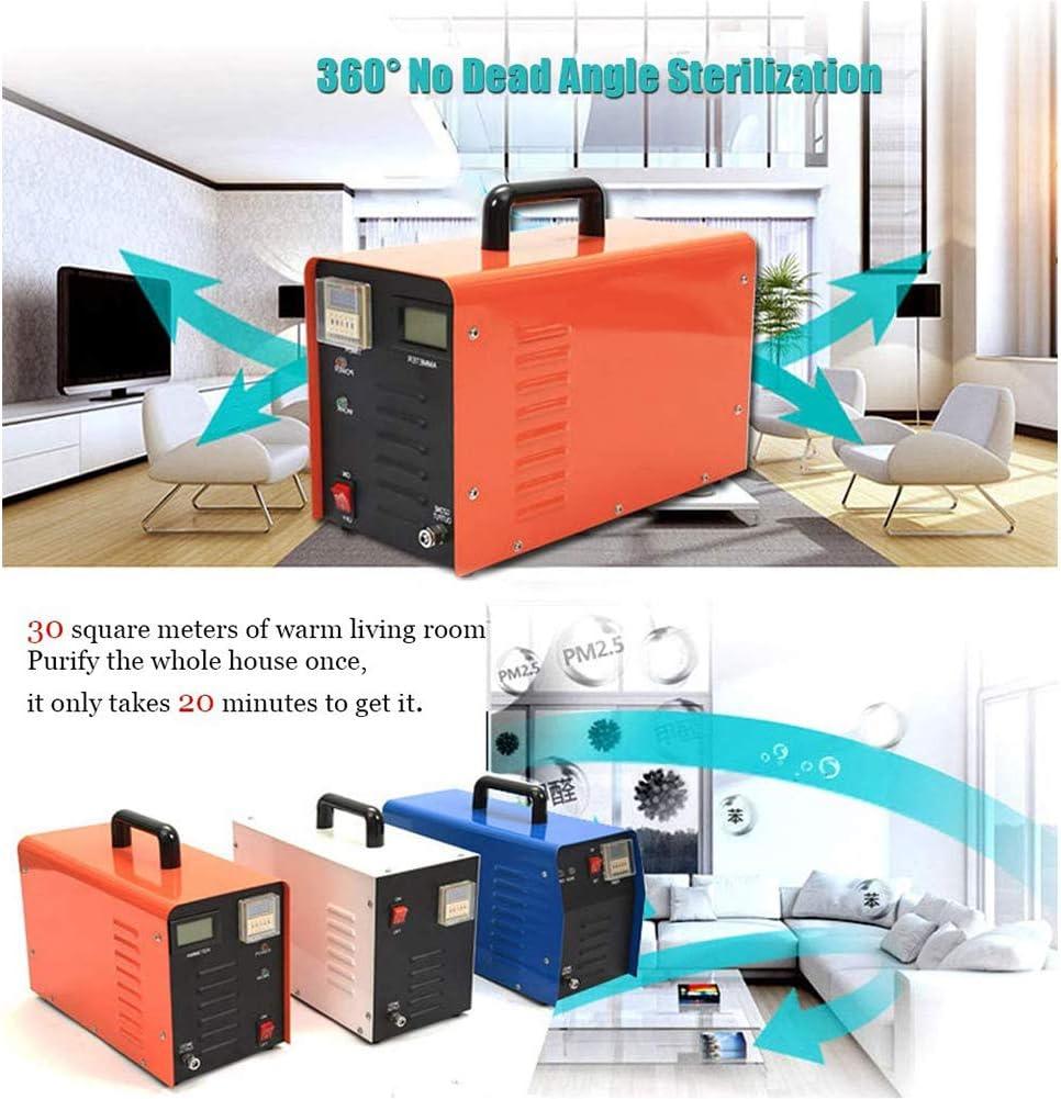 BOYZ Generador de Ozono Comercial 5000mg / h con Temporizador de ...
