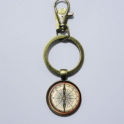 Brújula llavero, Mimi llavero, clave diario regalo clave ...