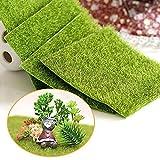 "Shindel Fairy Artificial Grass, Artificial Garden Grass, Ornament Garden Dollhouse, 6""x 6"", 4 PCS"