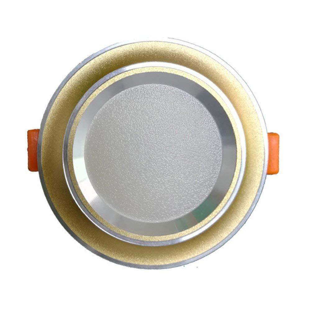 M-zmds LED Under Cabinet Lighting, Luci interne per cucina, luci per ripostigli, illuminazione per mensole, illuminazione da controsoffitto (12V DC, bianco caldo) [Classe energetica A +] ZDB-NBKLS