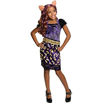 monster high halloween costume clawdeen wolf scaris small 4 6 - Clawdeen Wolf Halloween Costume