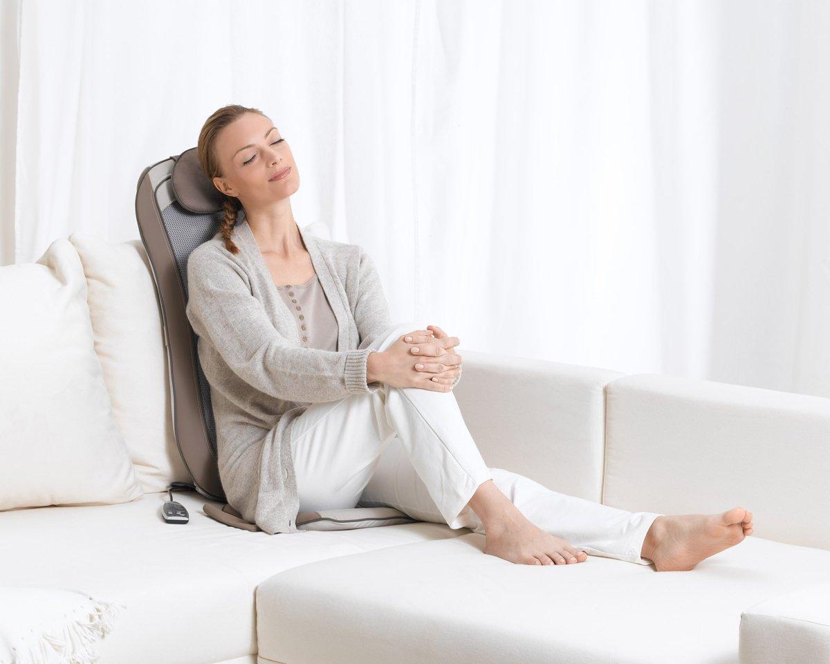 Amazon.com: MG 240 Sitzauflage Shiatsu – massagegerät: Beauty