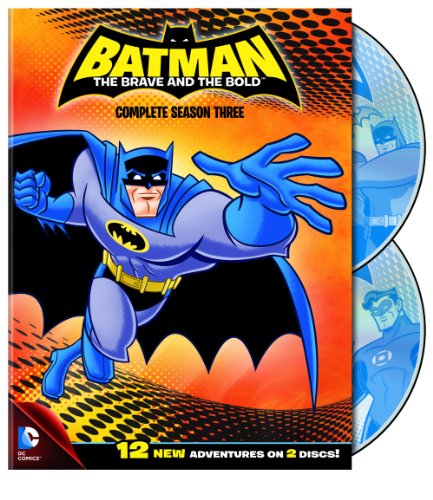 Batman: The Brave and the Bold: Season 3 (Batman Dvd Complete Tv Series)