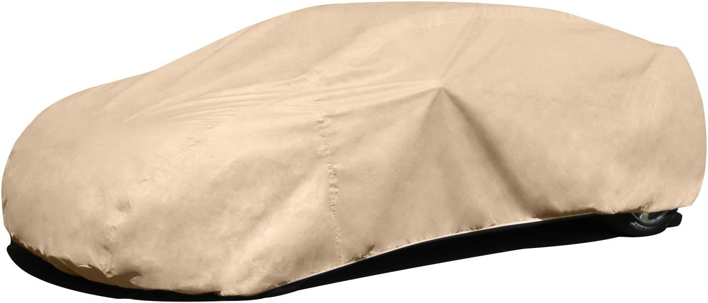 "Budge Rain Barrier Car Cover Fits Sedans up to 16'8"" Long