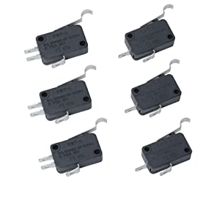 1014807 & 1014808 Micro Switch Compatible with Club Car Golf Cart DS & Precedent, 2 and 3 Prong Terminal Micro Switch Speed Forward Reverse, 12A 125/250VAC Replaces for 430-115 Stens Limit Switch