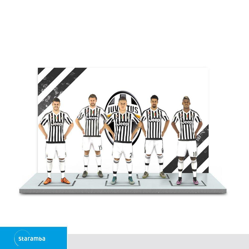 Staramba Juventus figura 3D - Ofensiva 1a Equipación 1:20 (14.9 cm ...