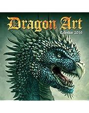 Dragon Art wall calendar 2016 (Art calendar)