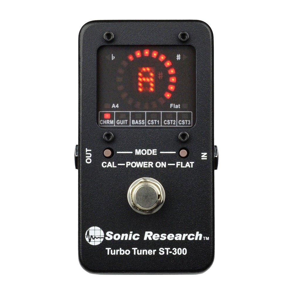 Sonic Research ST-300 Stomp Box Strobe Tuner · Afinador: Amazon.es: Instrumentos musicales