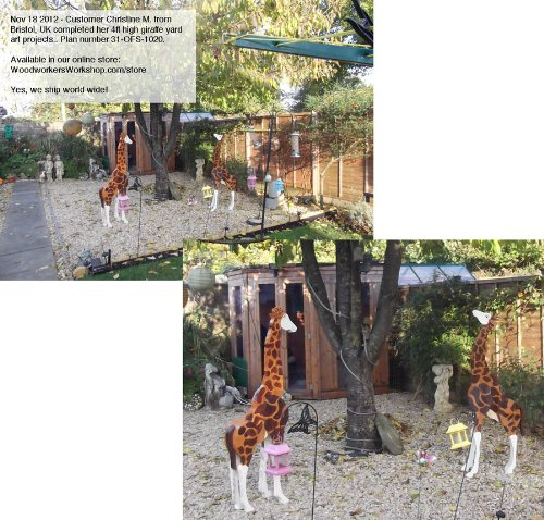 A Full Size Woodworking Pattern And Instructions To Build A 4 Foot