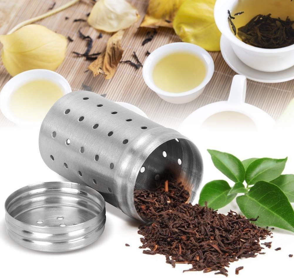 Tea Strainer Household Tea Leaf Fliter 304 Stainless Steel for Filtration Household Teahouse Use