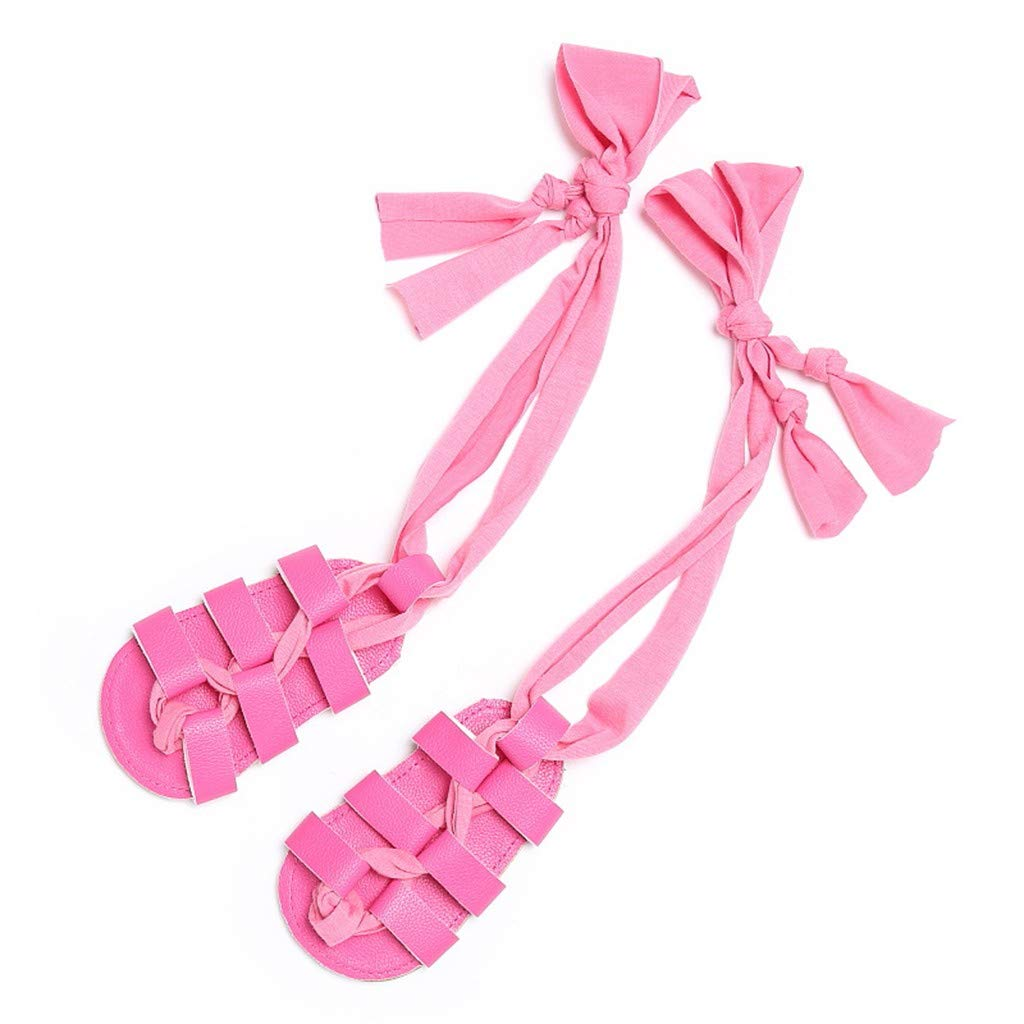 Newborn Infant Sandals Shoes Lace Up Roman Shoes Leather High Bandage Sandals Firstwalkers Shoes Memela