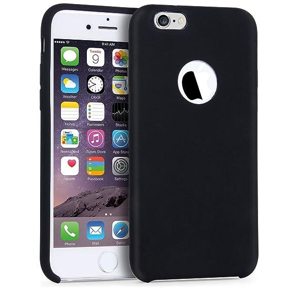 b6fc944955 Amazon.com: iPhone 6 6s Case,YonMeet Liquid Silicone Protective ...