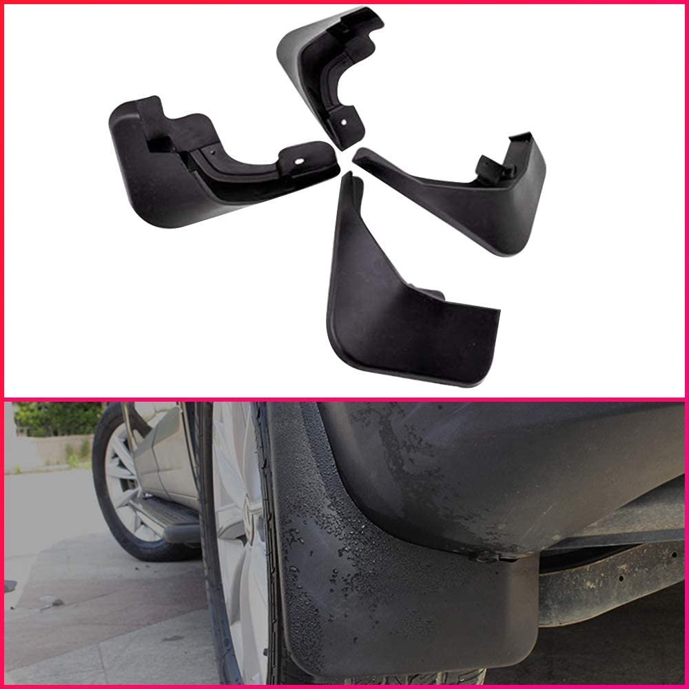 Car Mud Flaps Splash Guard Fenders for Front or Rear w// Hardware Universal Fit
