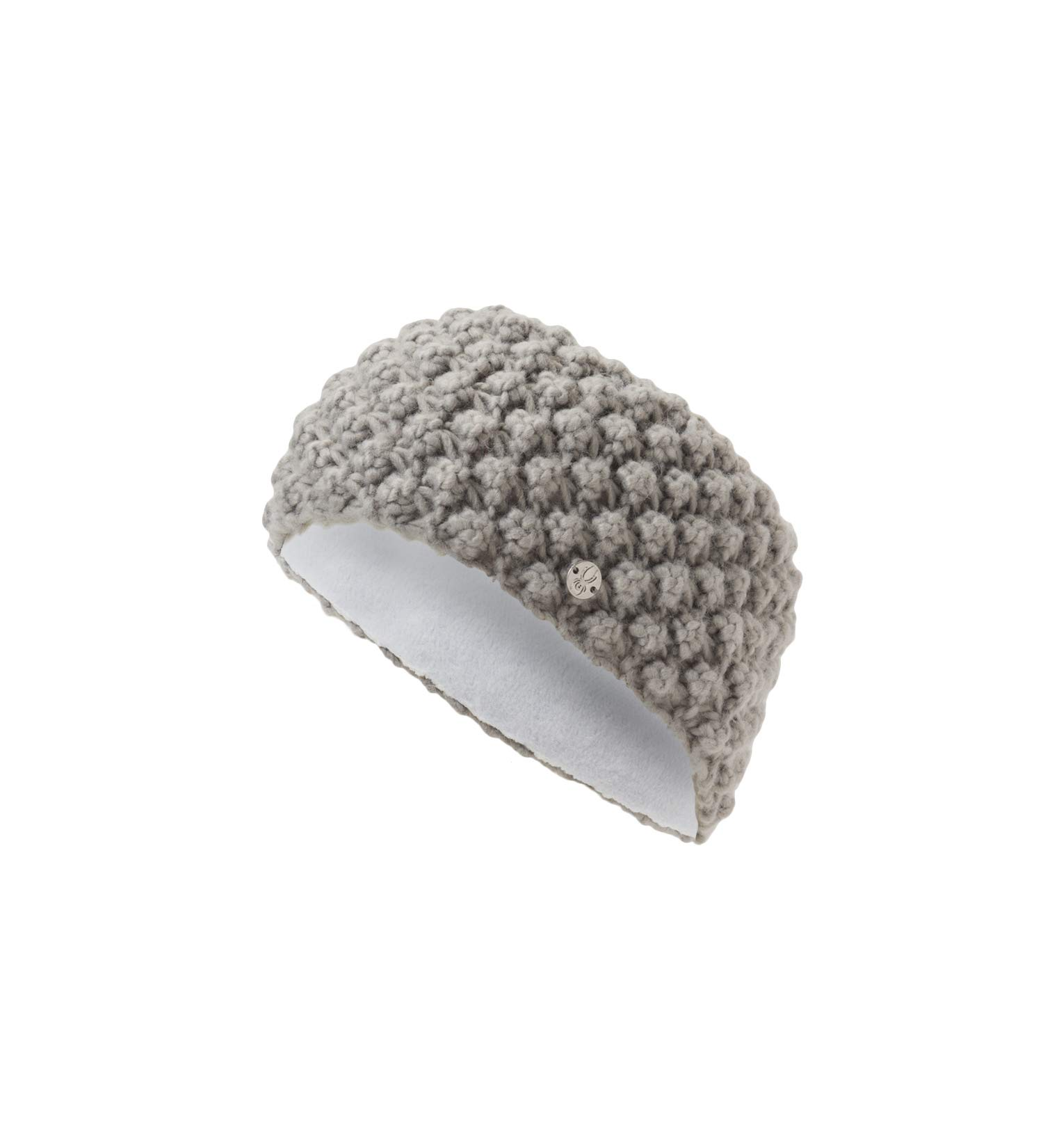 Spyder Women's Brrr Berry Headband, Alloy/Alloy, One Size by Spyder