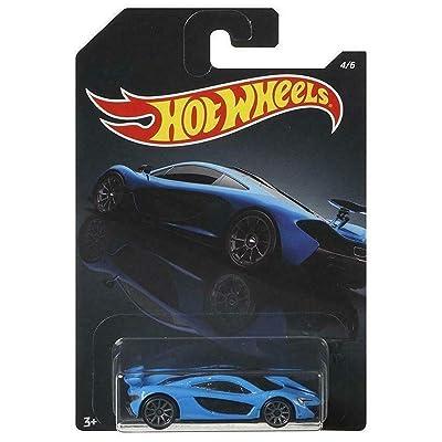 Hot Wheels 1/64 Scale Blue McLaren P1 #4/6 Diecast Model Car: Toys & Games