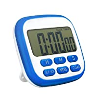 Topop Digital Minuteur électrique Timer analogique courte durée Fitness Timers LCD Horloge numérique Second Timer