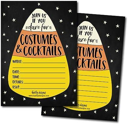 Amazon.com: 25 tarjetas de invitación para fiestas de ...