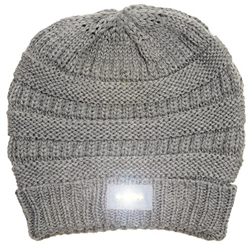 Ski Hat With Led Light - 7