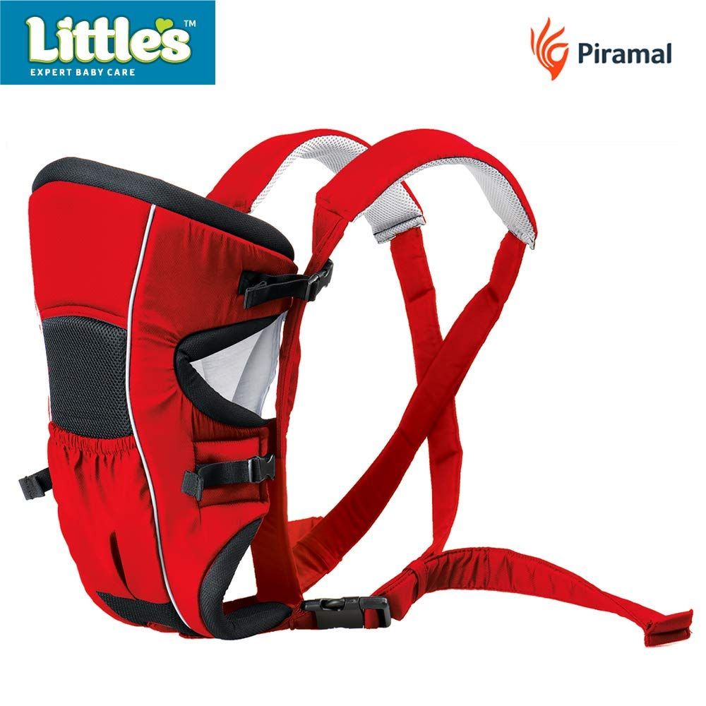 Little's Deluxe Baby Carrier (Red/Blue)