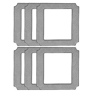 Almohadilla de microfibra de repuesto para limpiaparabrisas ECOVACS WINBOT W850, limpieza automática, 4 paquetes: Amazon.es: Hogar