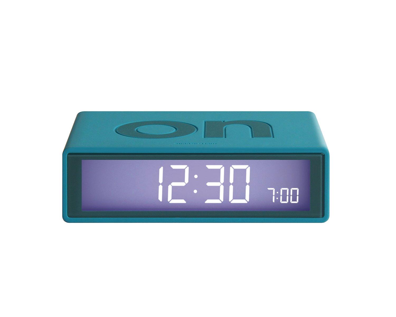 Amazon.de: Lexon Flip 2 Wecker, Farbe blaugrün