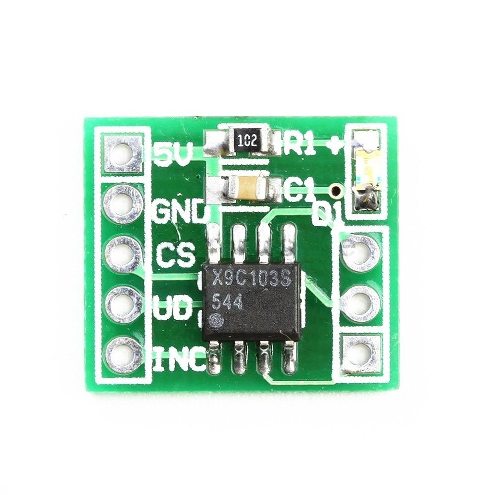 1PCS 3V-5V X9C103S Digital Potentiometer Module for Arduino NEW