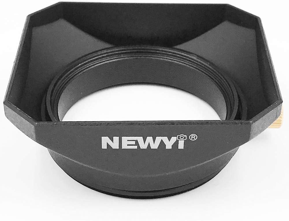 Faddare Camera Square Shape Accessories Retro Style Protective Lens Hood