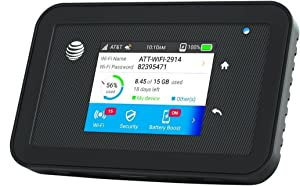 Netgear Unite Explore AC815S | Mobile WiFi Hotspot Cat.9 4G LTE | Up to 450Mbps Download Speed | Connect Up to 15 Devices | 18 Hours of Use Per Charge | 2 MIMO TS-9 Antenna connectors | GSM Unlocked