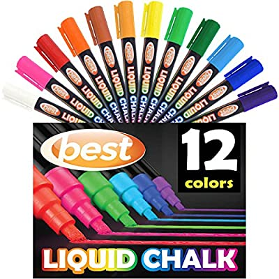 Best Liquid Chalk Markers, 12 Pack from Best