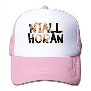 Adult Niall Horan One Direction Adjustable Mesh Hat Trucker Baseball Cap Pink