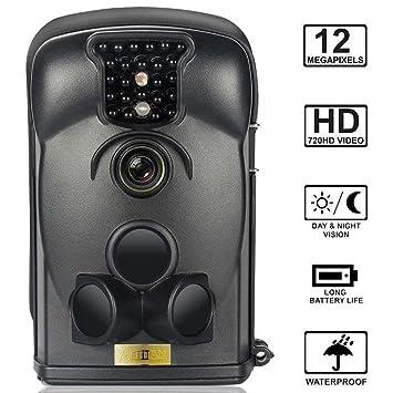 ARTITAN Cámara de Caza 12MP Cámara de Vigilancia Trail Cámara Impermeable IP65 con Infrarrojos PIR Sensor