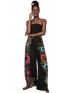 0324d88fc8e3 Desigual Dress Swimwear Magda Woman Black Vestito Donna  Amazon.it ...