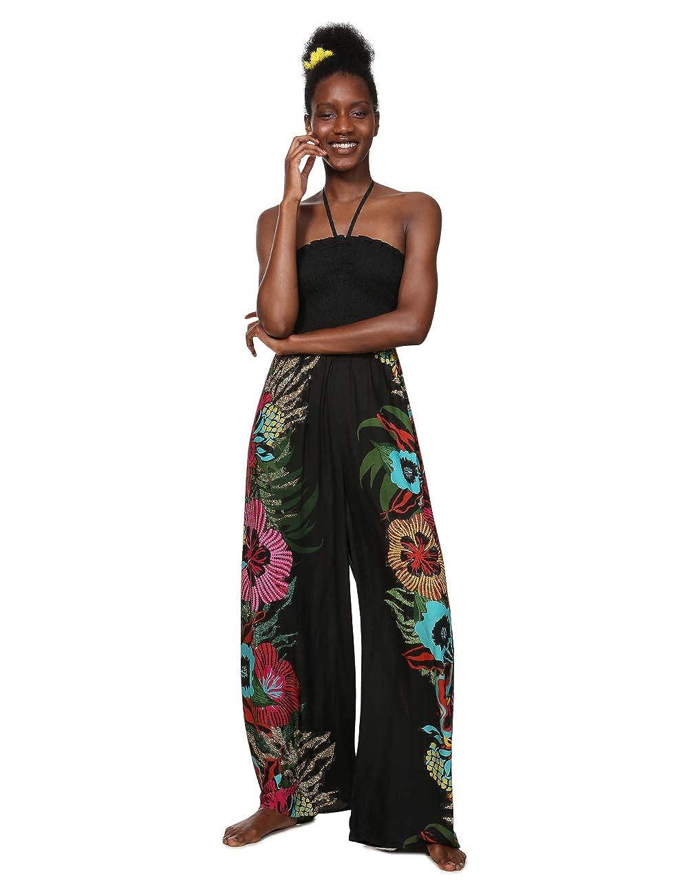 Desigual Dress Swimwear Dalila Woman Black Monopezzo Donna