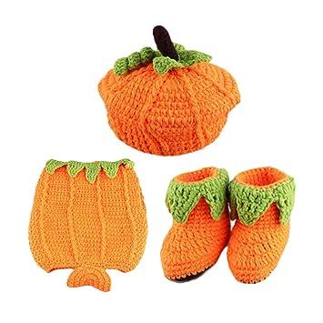 Amosfun Fiesta de Halloween Disfraz de Calabaza para niños bebé ...