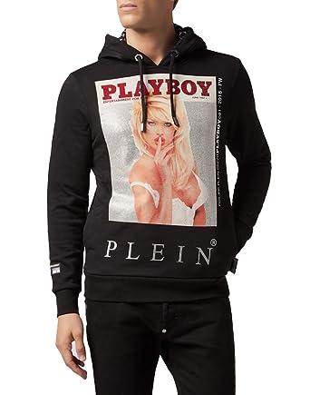9fe624728bd018 Philipp Plein Hoodie Playboy: Amazon.co.uk: Clothing