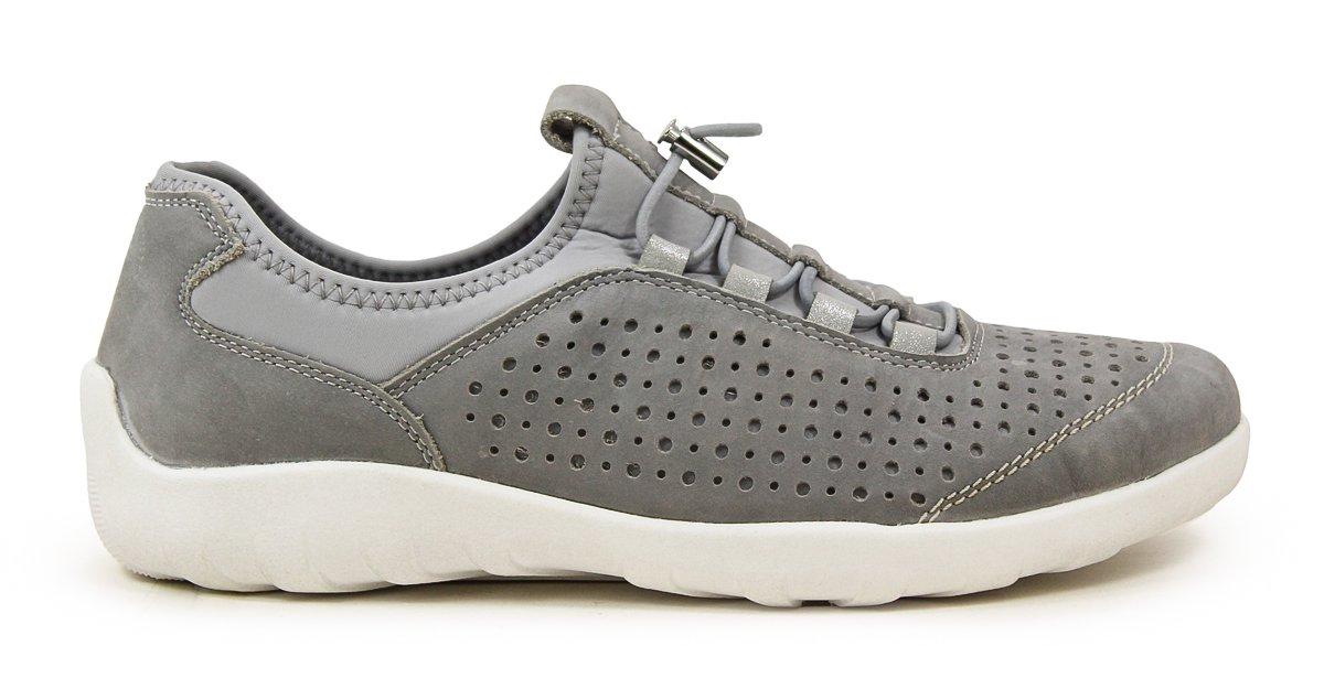 Remonte Damen Grau R3500 Slip on Sneaker Grau Damen 471e5b