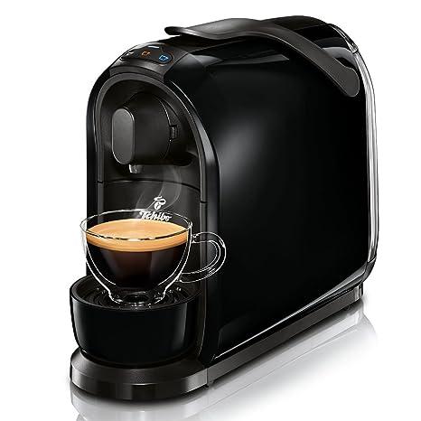 Tchibo Cafissimo Pure Cápsula Máquina para café, Café expreso y Caffè Crema, Black